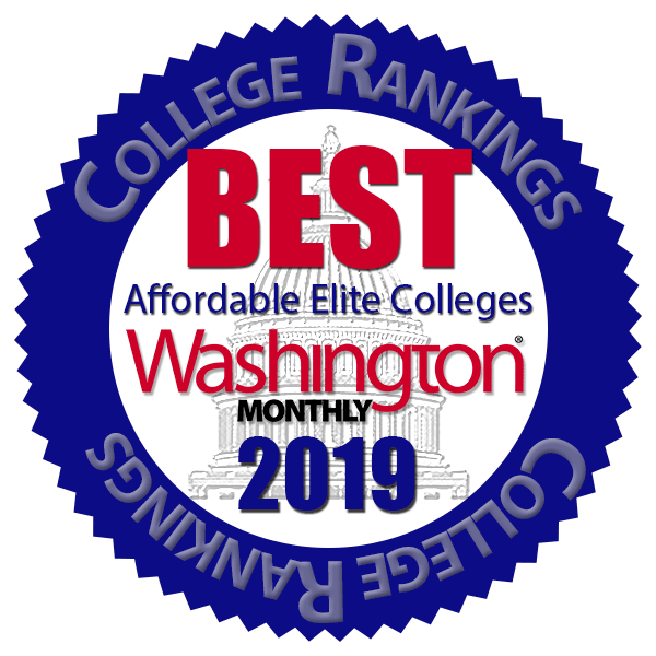 Baruch College secures top ranking on the Best Affordable Elite Colleges 2019 list released by Washington Monthly.